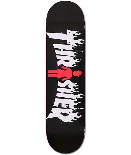 """Girl X Thrasher 80"""" Collaboration Skateboard Deck At"""