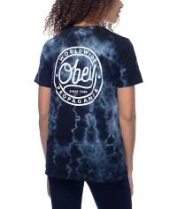 Obey Since 89 Black Tie Dye T-Shirt   Zumiez