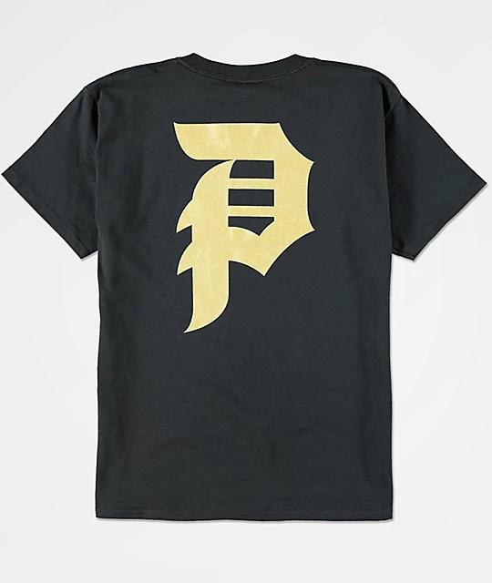 Gold Black Shirt Custom Shirt