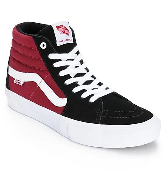 Vans X Real Sk8 Hi Pro Skate Shoes