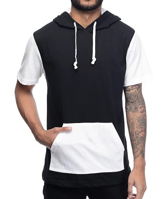 Image result for hooded t-shirt