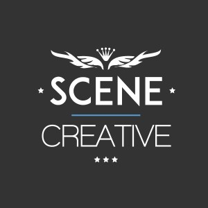 Scene Creative logo - dark version