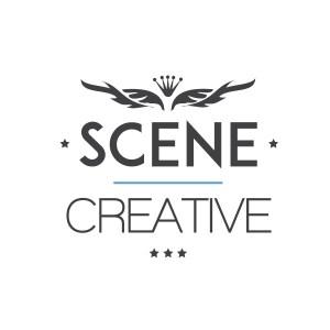 Scene Creative logo - light version