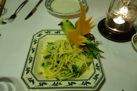 Green Papaya Salad with Herbs