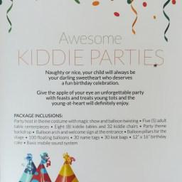 Awesome Kiddie Parties