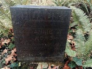 Annie W Roach 1875-1909 Aged 34 Years
