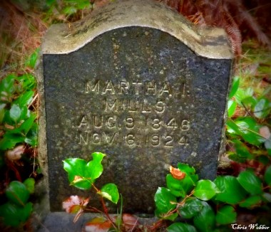 Martha Mills 1846-1924