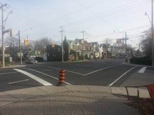 Greenwood Avenue and Dundas Avenue East