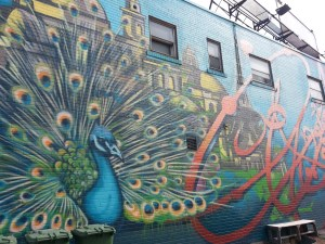 27 Glenside Peacock Mural