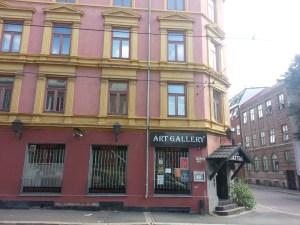 28. Tattoo place Toftes Gate Grünerløkka
