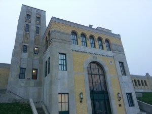 27. R.C. Harris Water Treatment Plant Front