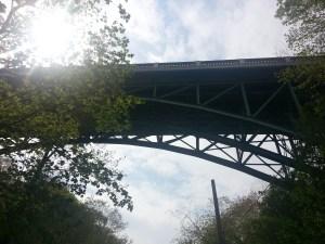 13. Park Drive Reservation Trail CPR Bridge