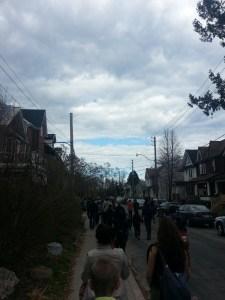 Jane's Walk 2015 Geocaching (1)