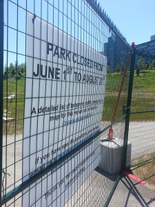 3. Corktown Common Closed