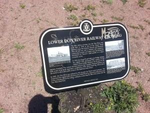 5. Don River Heritage Toronto plaques