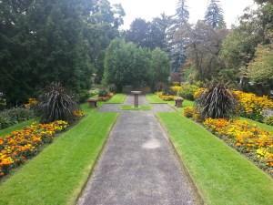 Mount Pleasant Cemetery garden