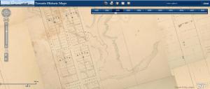 Garrison Creek Crawford Street, 1858