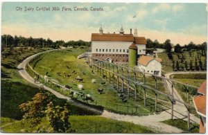 Dentonia Farm Postcard 1910 (1) East York Then and Now