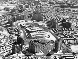 Peanut Aerial Looking South Late 1960s