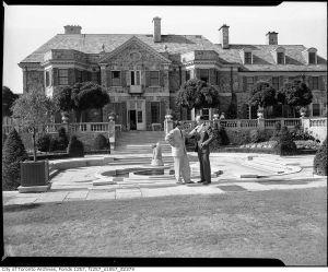 Graydon Hall Manor Rear Henry Rupert Bain, 1950s.