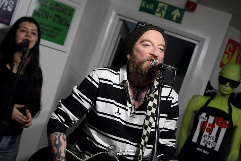 Ginger Wildheart: Photo Ian Bourn / Scene Sussex / Media Works