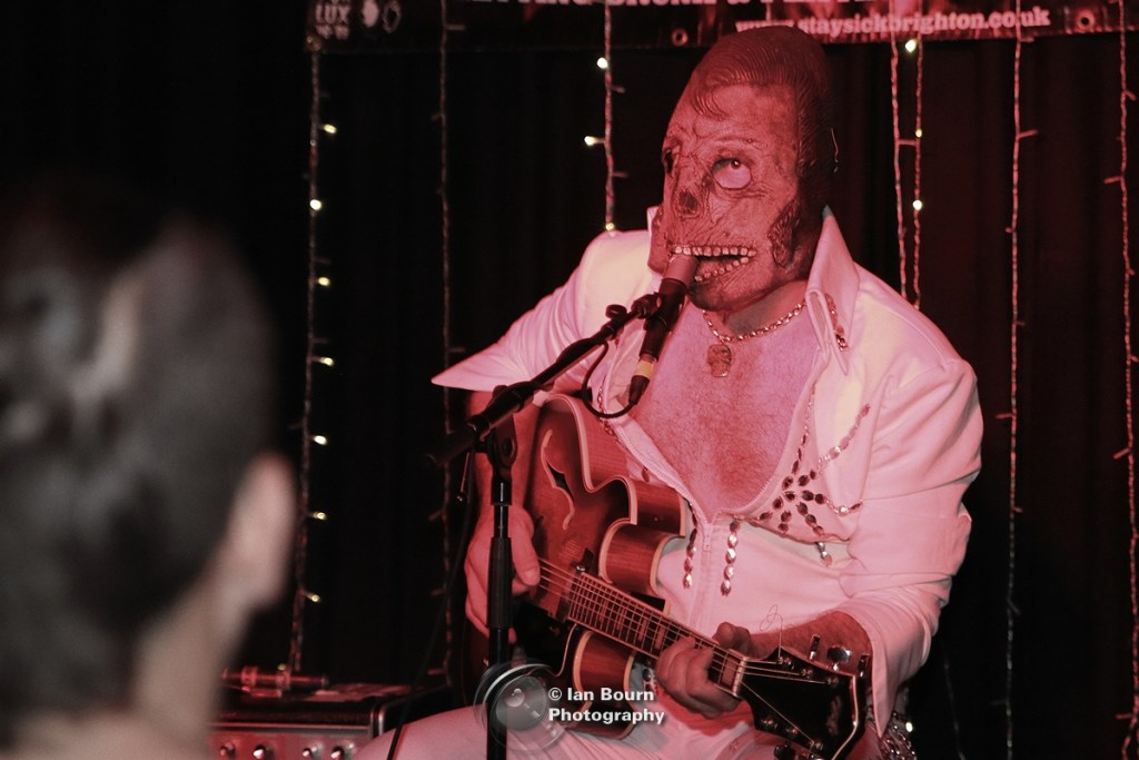 Dead Elvis: pic by Ian Bourn for Scene Sussex and Media Works