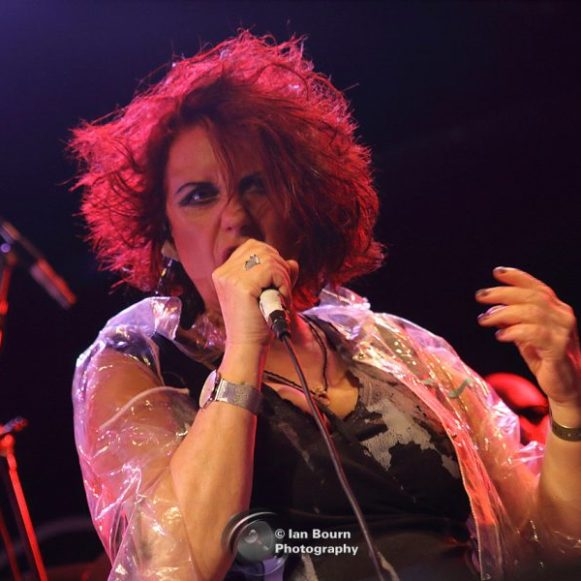 The Rezillos: Fay Fife - photo by Ian Bourn for Scene Sussex