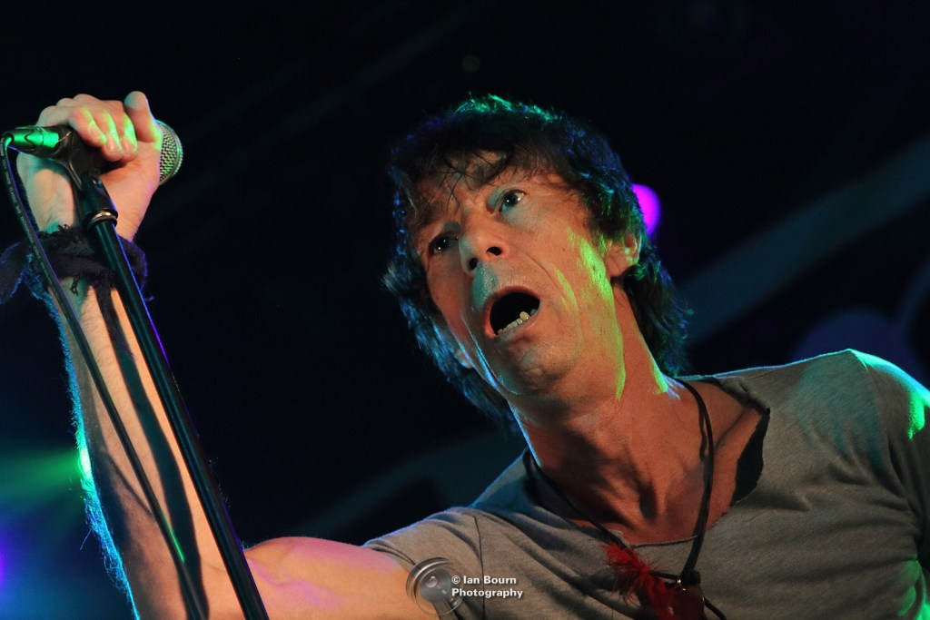Jimmy Pursey - photo by Ian Bourn for Scene Sussex