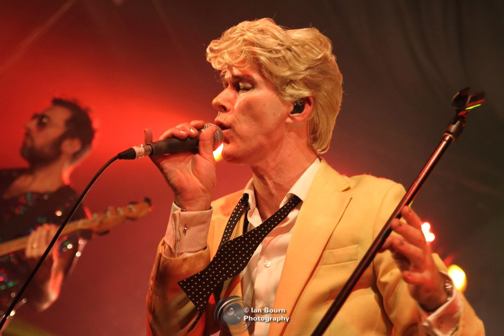 Absolute Bowie: Photo by Ian Bourn for Scene Sussex