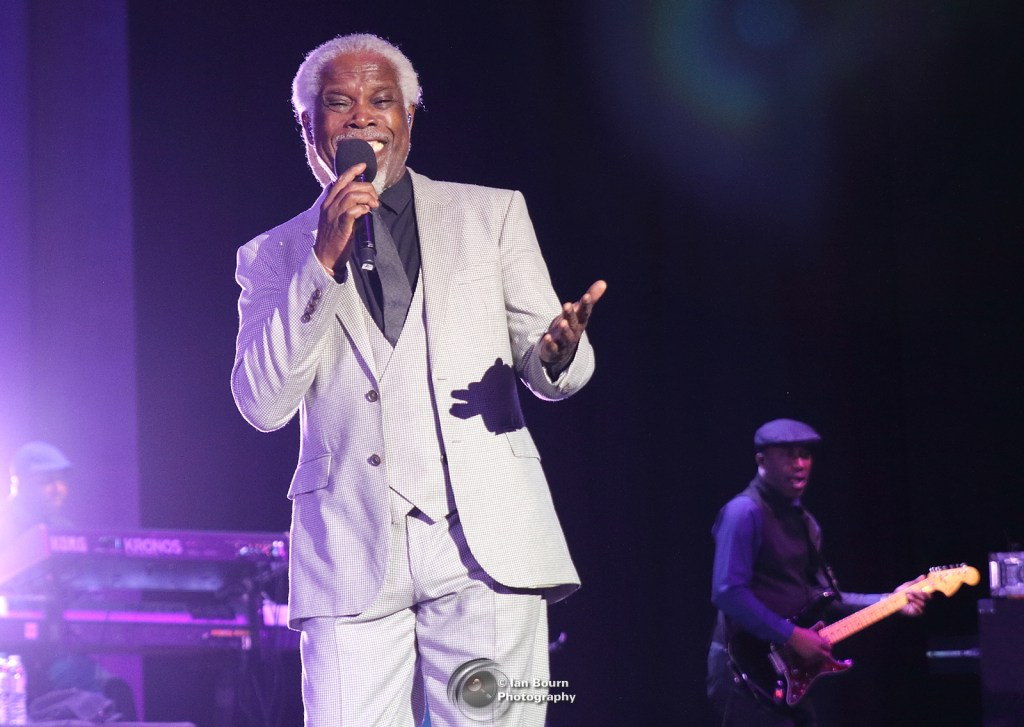 Billy Ocean: photo by Ian Bourn for Scene Sussex