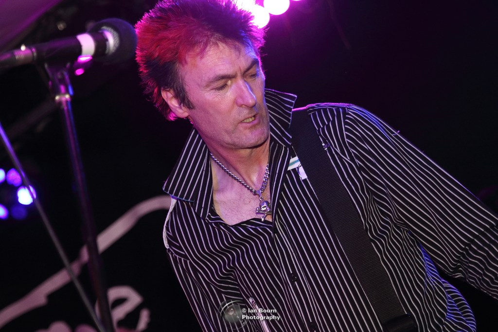 UK SUBS: Steve - pic by Ian Bourn for Scene Sussex