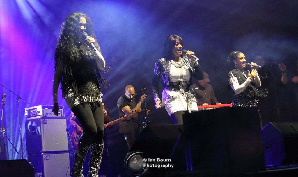 Sister Sledge: photo by Ian Bourn for Scene Sussex