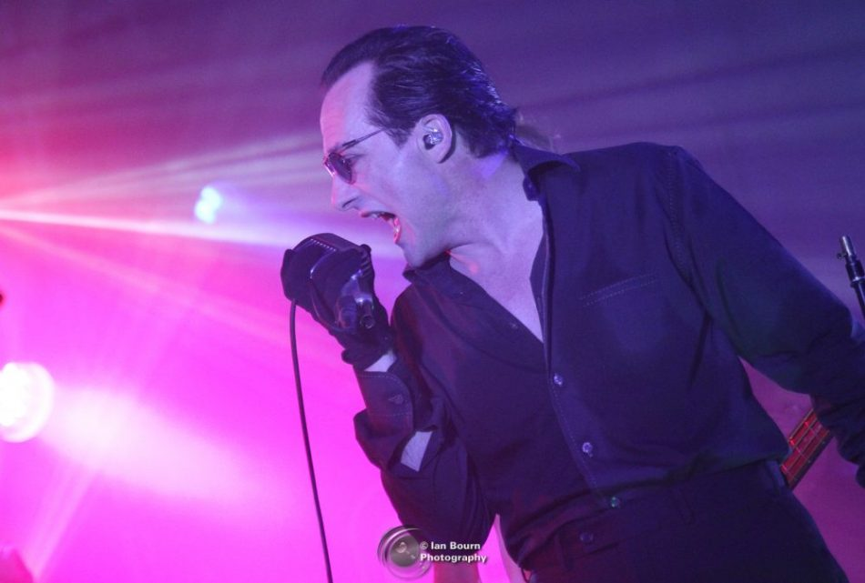 Dave Vanian from The Damned live at the Concorde 2 - photo by IAN BOURN for Scene Sussex