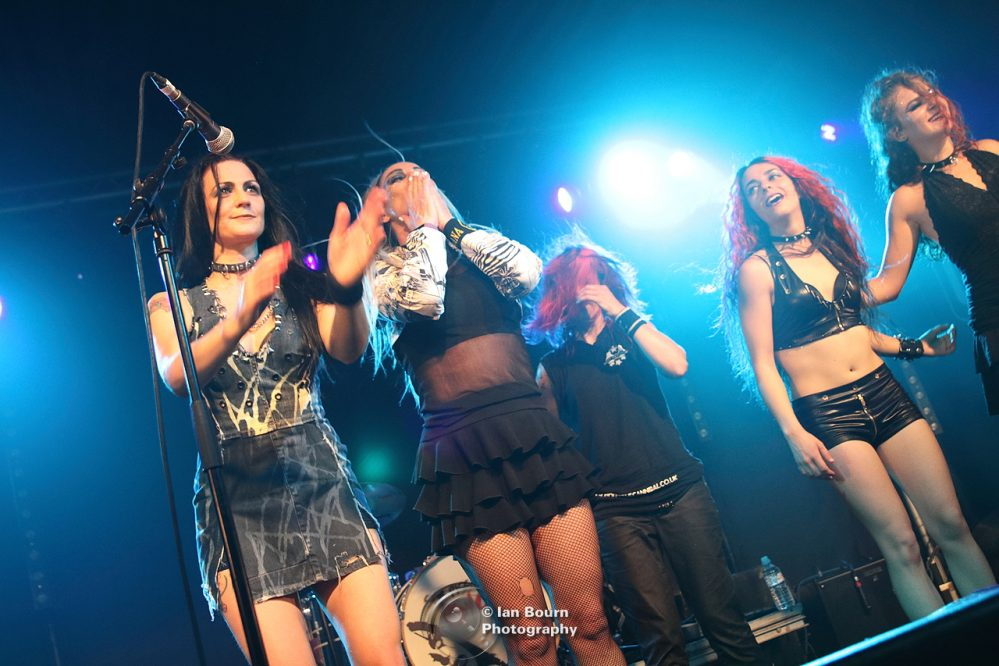 Sex Pissed Dolls - pic by Ian Bourn for Scene Sussex