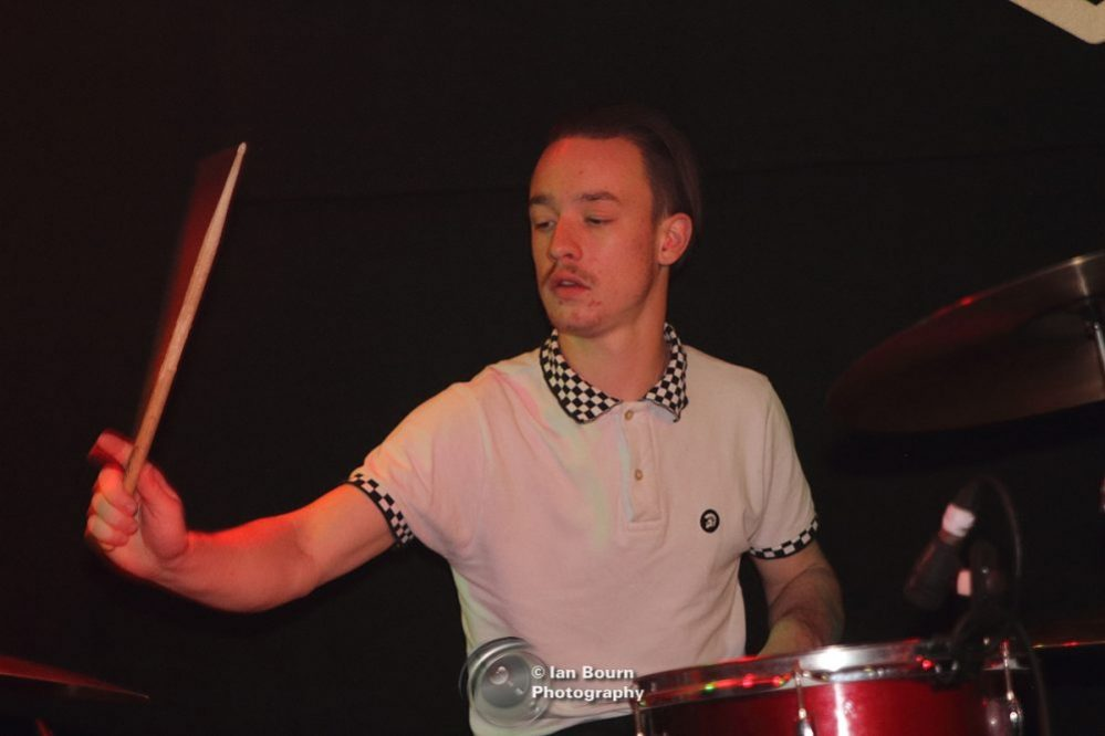 Morphers Band: Drums: Archie - pic by Ian Bourn for Scene Sussex