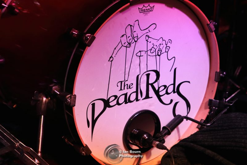 The Dead Reds: photo by Ian Bourn for Scene Sussex