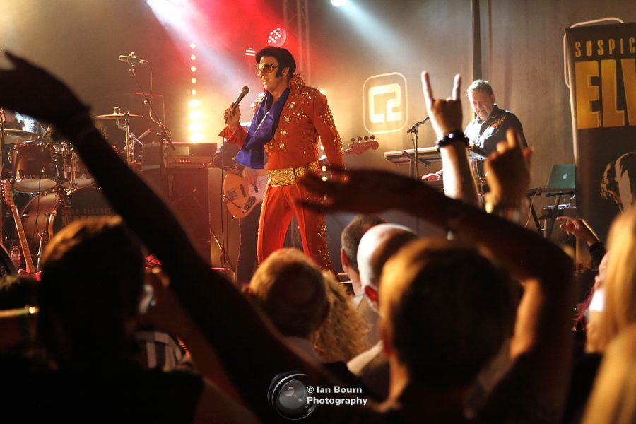 Suspiciously Elvis: photo by Ian Bourn for Scene Sussex