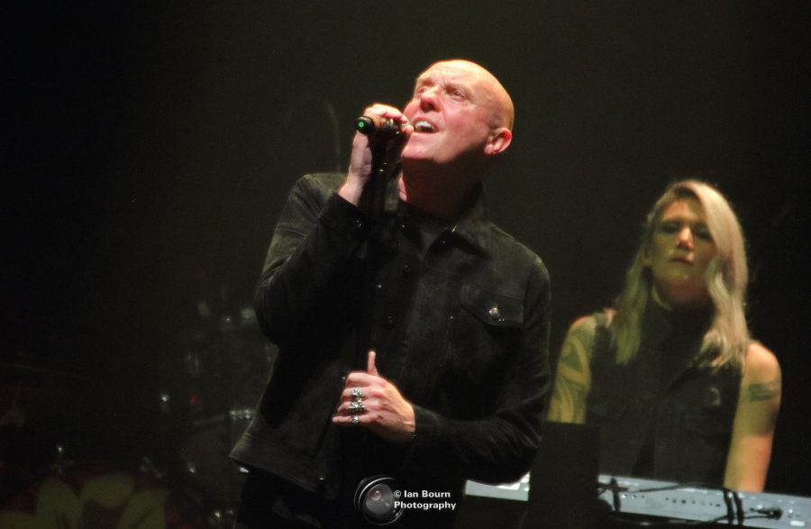 Heaven 17: photo by Ian Bourn