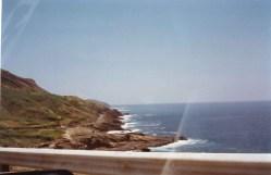 Magnificent rocky coastline