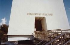 Pearl Harbor : Entrance to USS Arizona