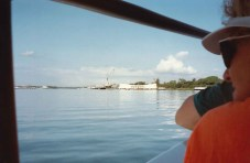 Pearl Harbor: taking the ferry to USS Arizona