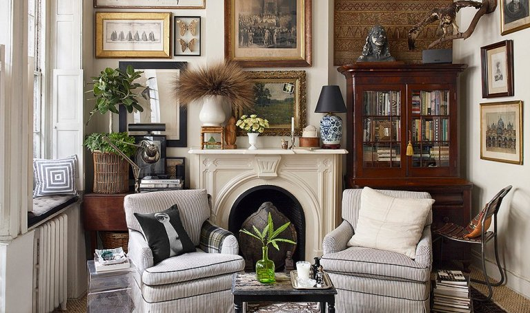 Decor of the Day: Eclectic Living Room - Scene Therapy