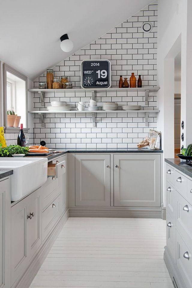 Small Kitchen Ideas - Scene Therapy