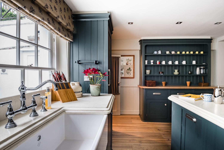 Kitchen Inspiration Blue Kitchen Design   Scene Therapy