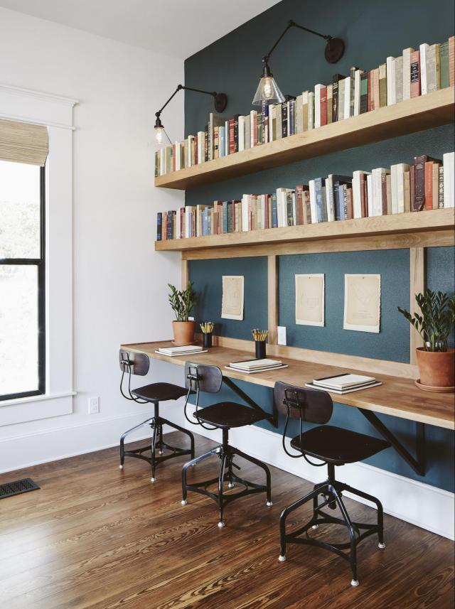 House Study Room: The Ramsey House From Fixer Upper