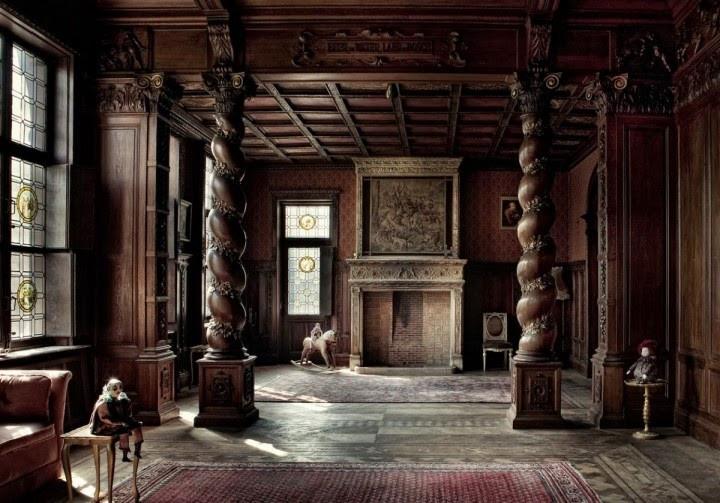 gothic interior design living room Best of Victorian Gothic ...