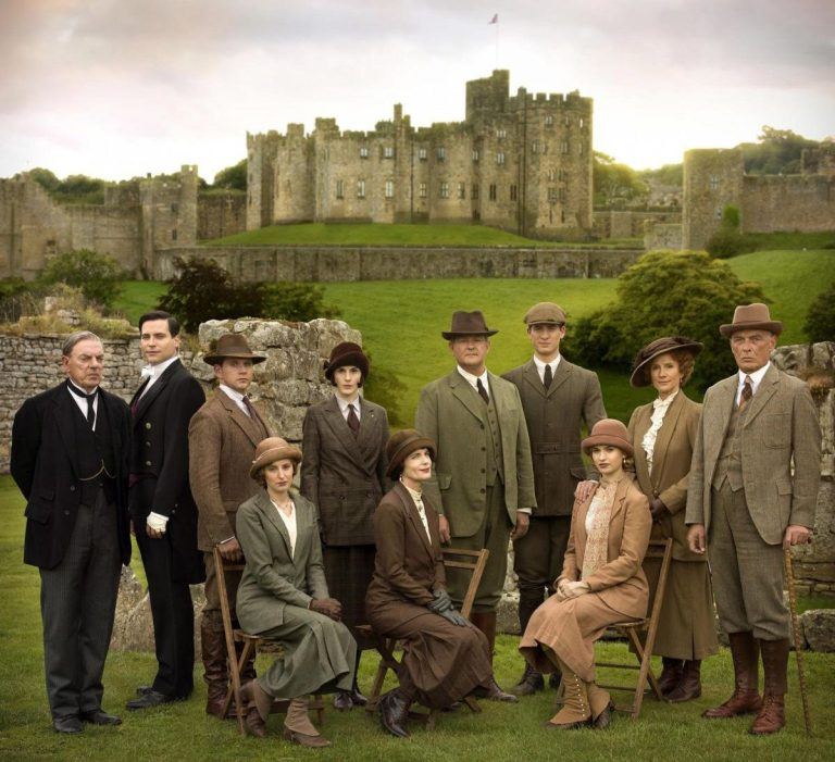 Downton Abbey Locations Brancaster Castle Alnwick