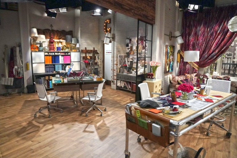Grace's Studio Office from Will & Grace new