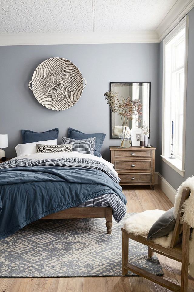 Best of the Sales - Blue Pottery Barn Bedroom