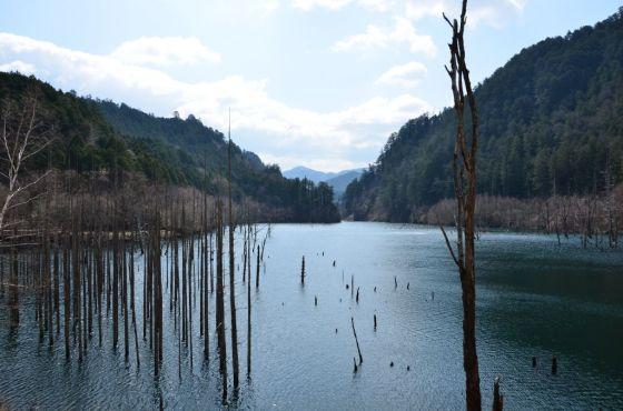 王滝村 自然湖